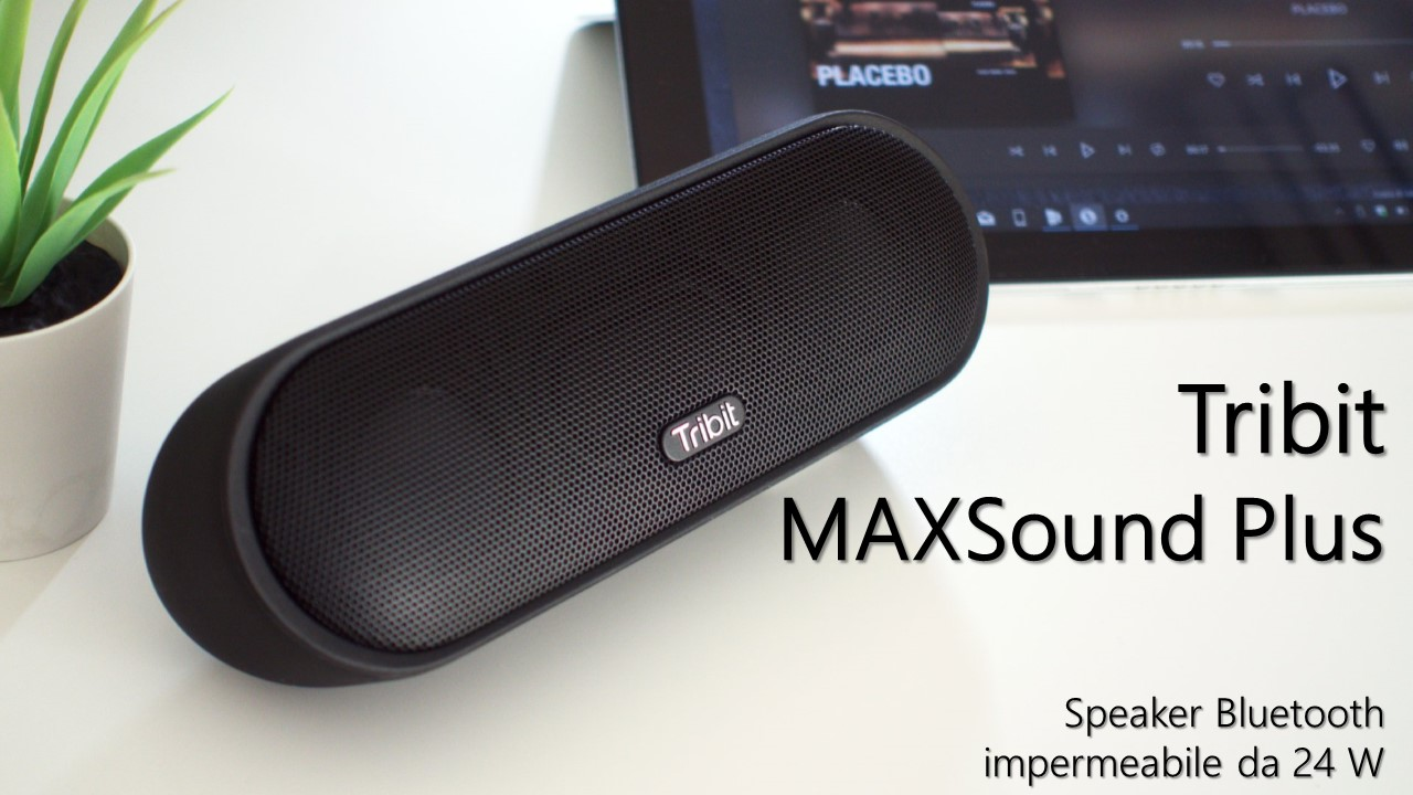 Tribit MAXSound Plus hero