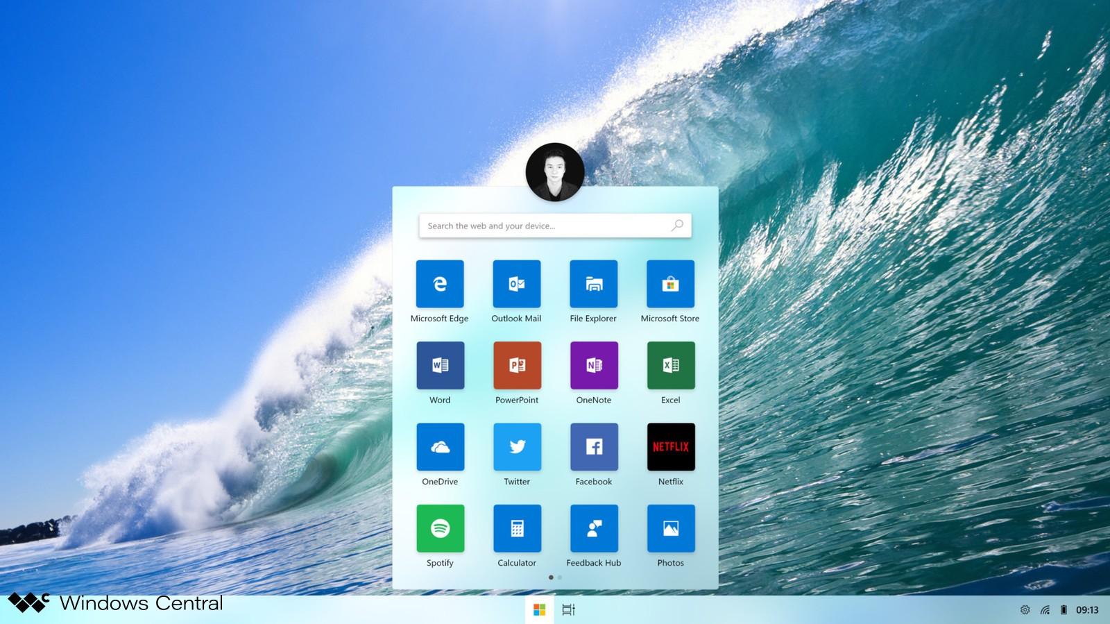 Windows CShell Santorini