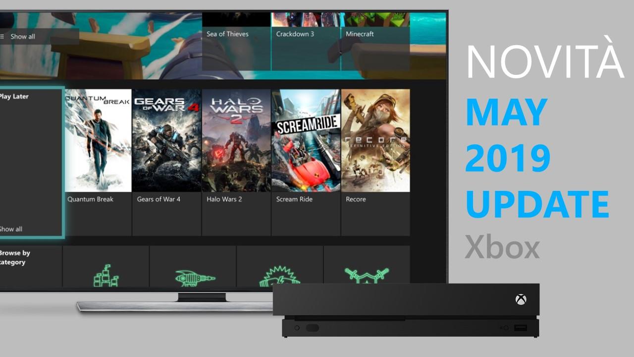 May 2019 Update - Xbox