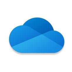 Microsoft OneDrive icona iOS