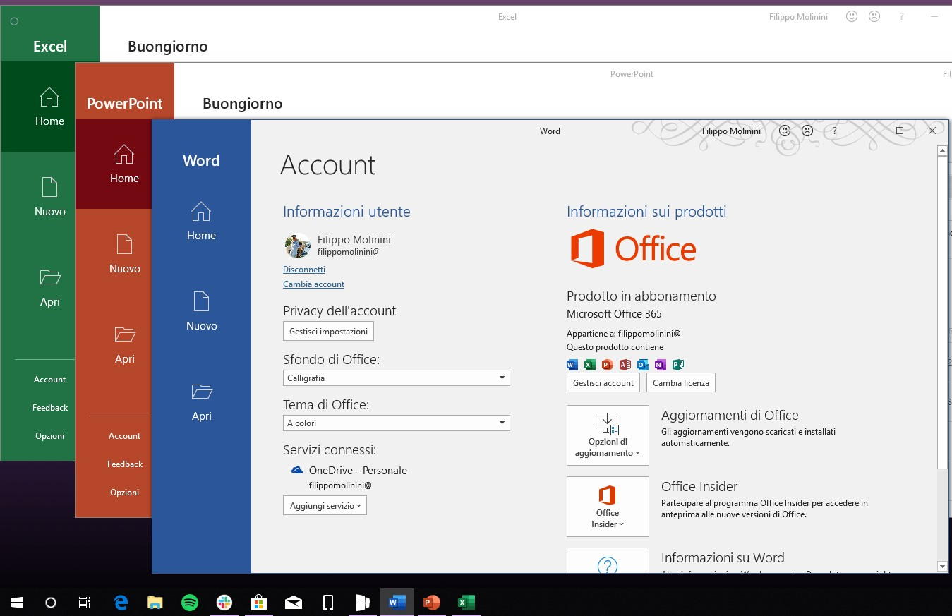 Office 365 nuove icone production