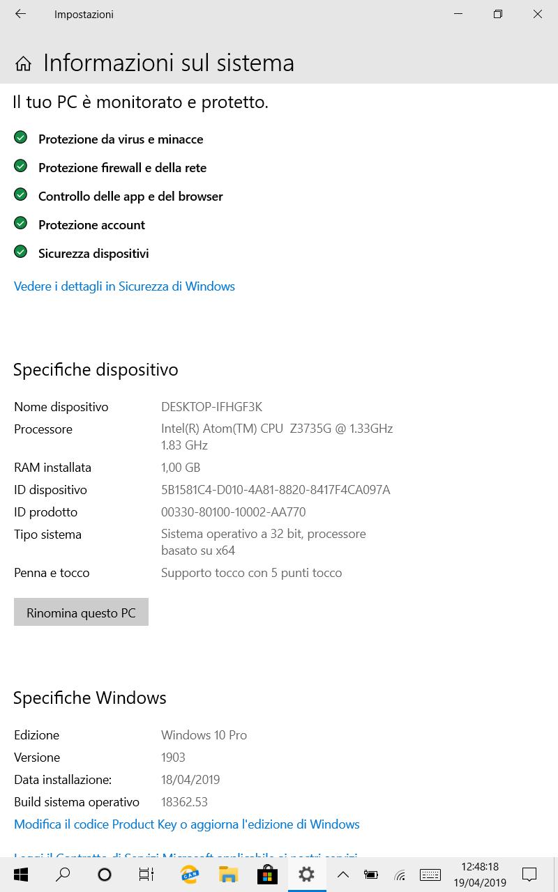 Microsoft rivede i requisiti minimi di Windows 10 May 2019 Update
