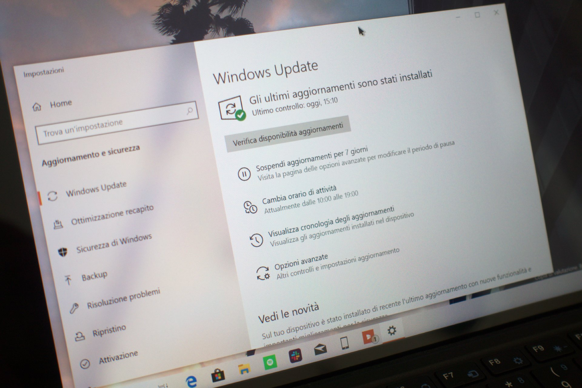 Windows Update in Windows 10 May 2019 Update