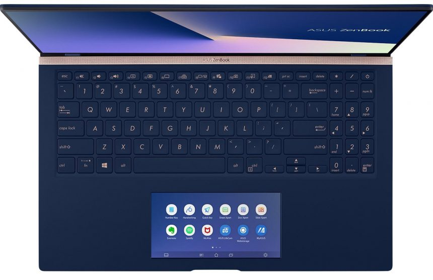 ASUS ZenBook con ScreenPad 2.0