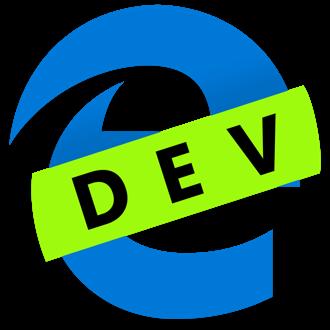 Microsoft Edge Dev icona