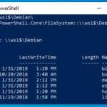 Accedere a Linux da Power Shell