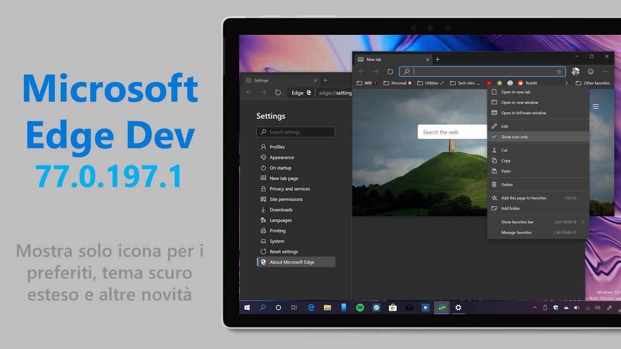 Aggiungere un sito ai Preferiti in Microsoft Edge