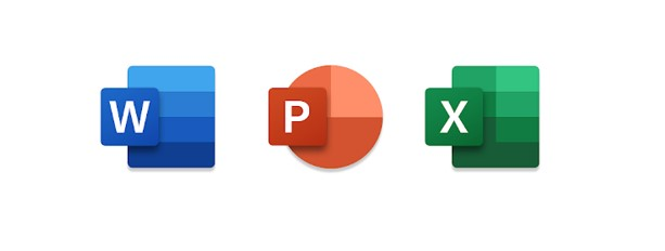 Microsoft Word - PowerPoint - Excel nuove icone Android