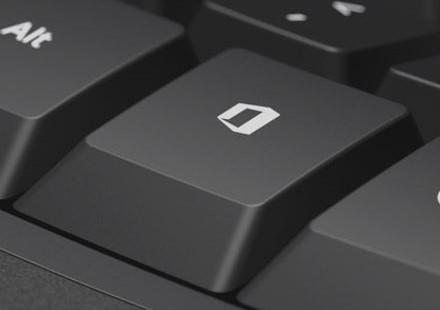 Tasto Office dedicato sulle tastiere