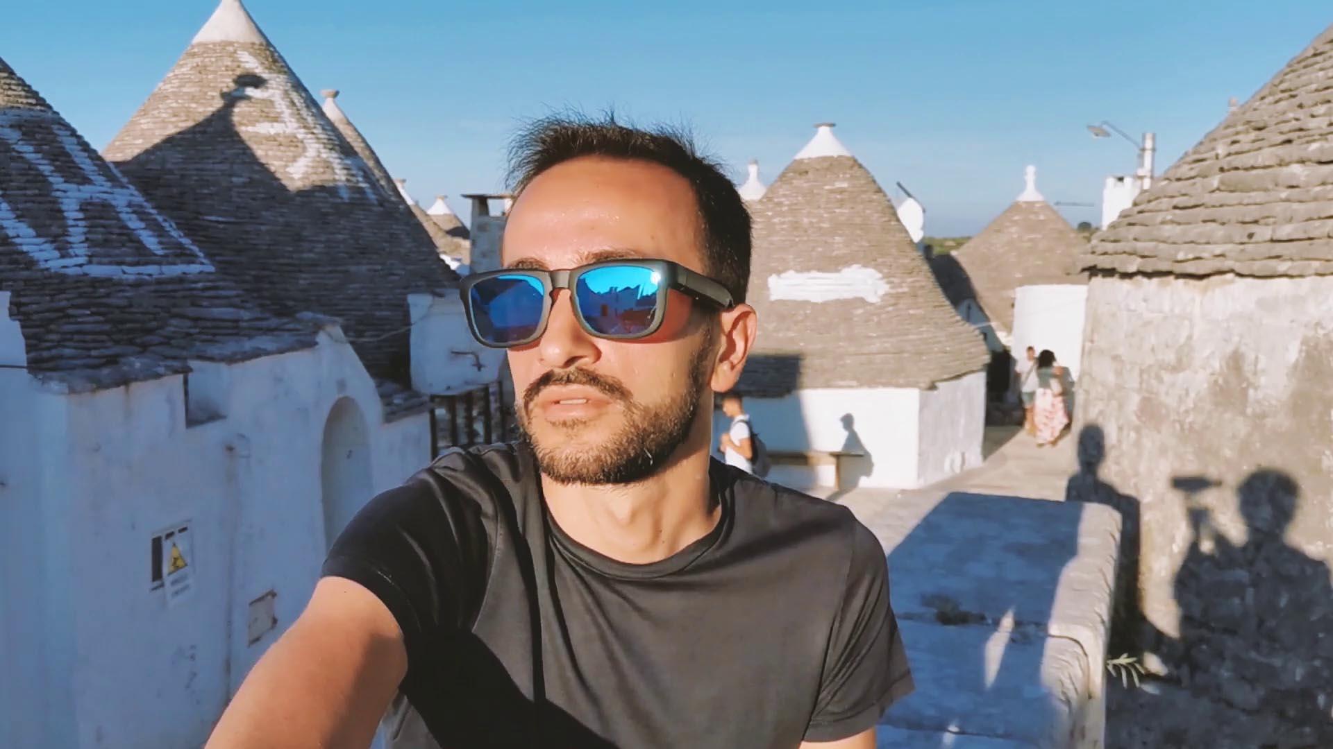 Unboxing e video review occhiali da Sole MUTRICS indossati