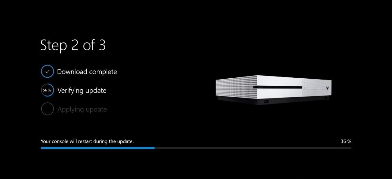 Xbox One nuova schermata aggiornamenti Windows Update