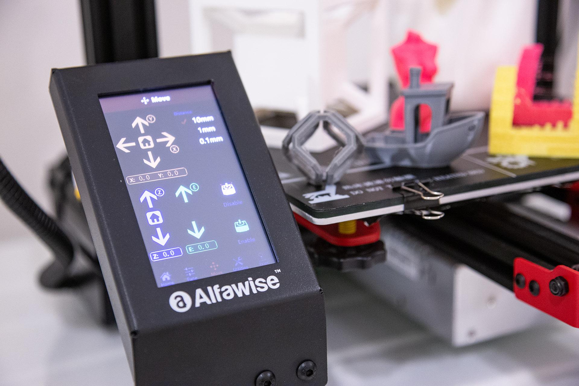 Display Alfawise U30 Pro