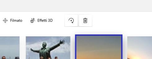 Microsoft Foto menu nuovi pulsanti editor video