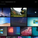 Microsoft Foto su Windows 10 nuovo layout tema scuro
