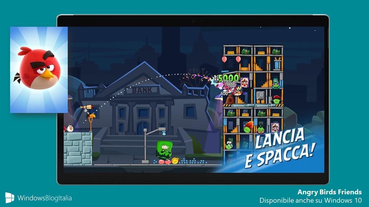 Angry Birds Friends Windows 10