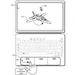 Brevetto Microsoft touchpad contestuale a zone 2