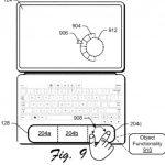 Brevetto Microsoft touchpad contestuale a zone 4