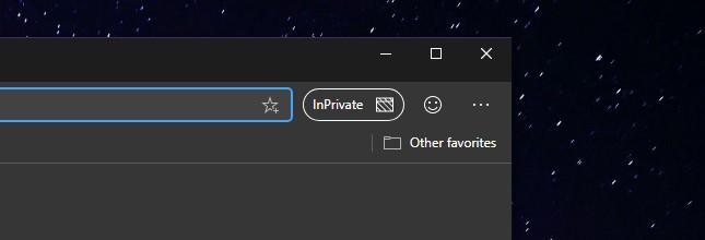 Microsoft Edge Dev migliorie schede InPrivate