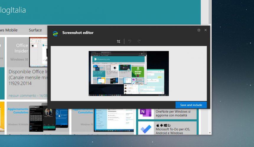 Microsoft Edge Dev tema scuro migliorato nuove aree browser