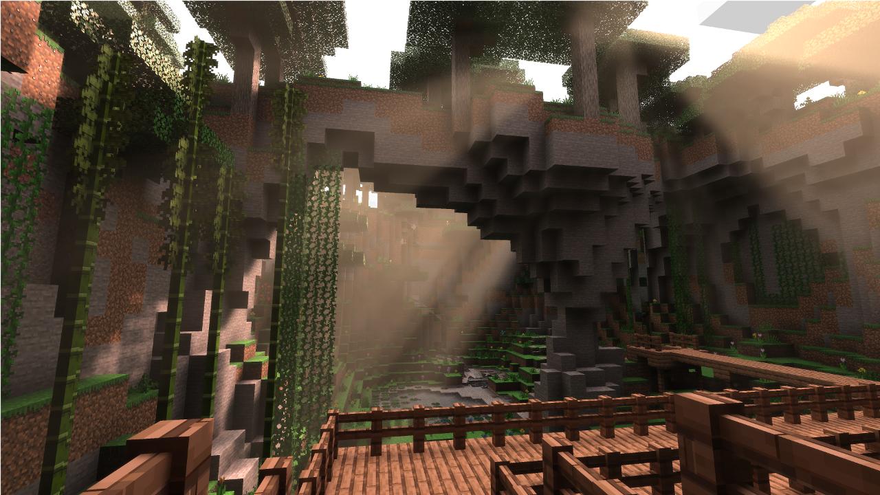 Minecraft con NVIDIA Ray Tracing (1)