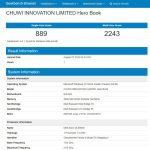 Prestazioni CPU GeekBench 4 Chuwi HeroBook