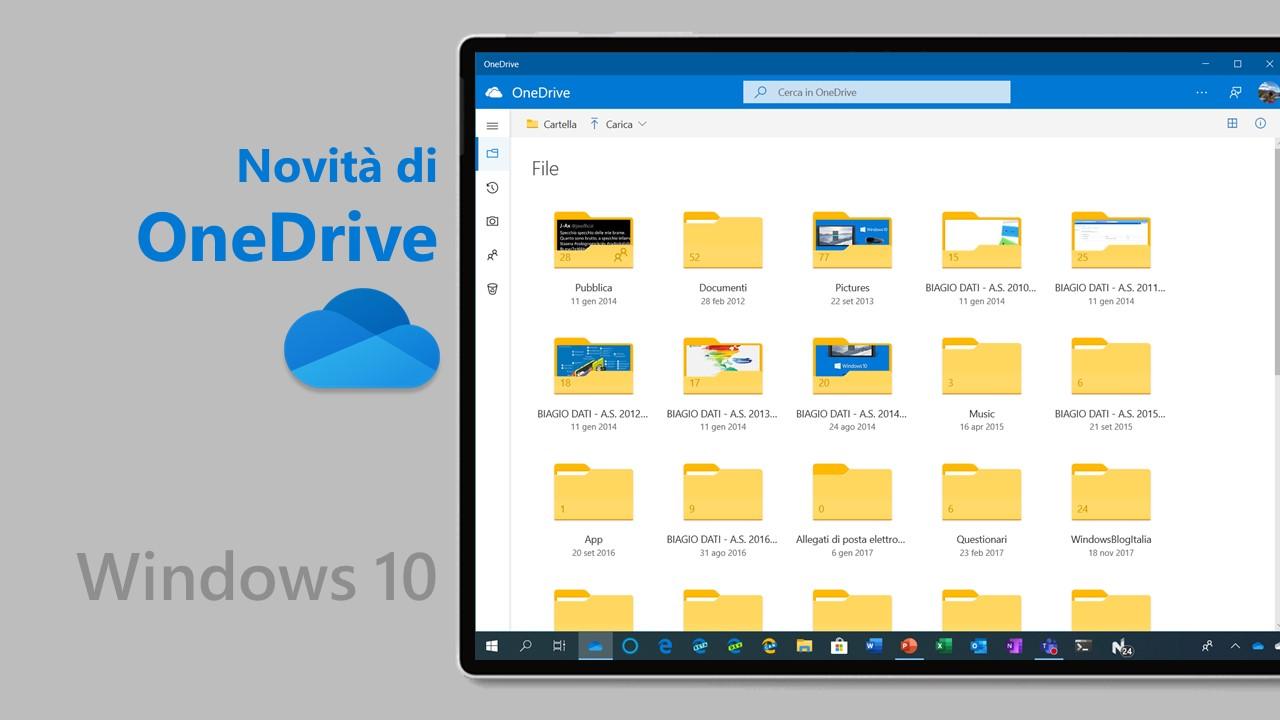 Novità OneDrive