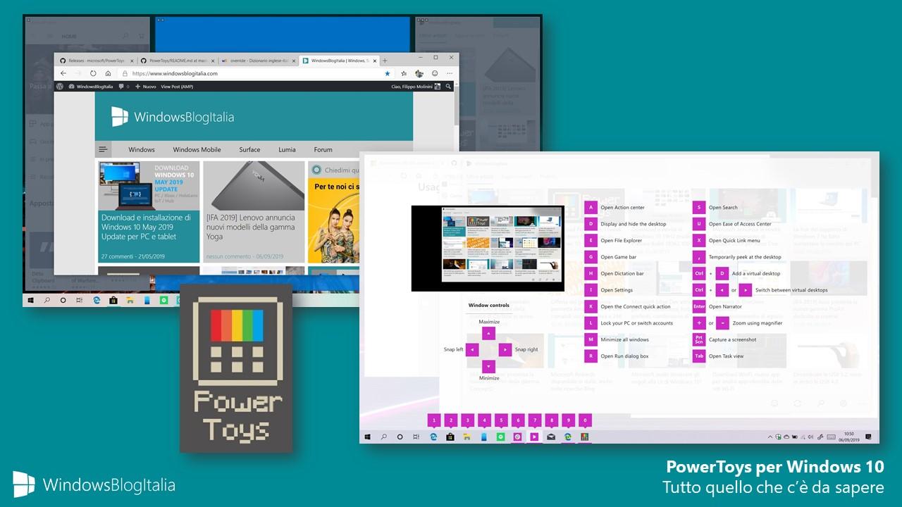PowerToys per Windows 10