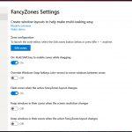 PowerToys su Windows 10 impostazioni FancyZones 1