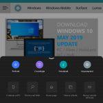 Microsoft Edge per Android nuovo menu tema scuro