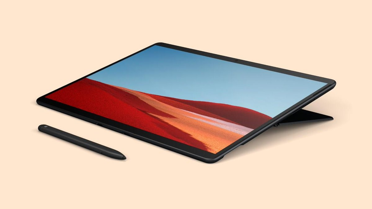 Microsoft Surface Pro X senza tastiera