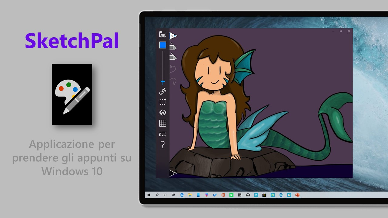 SketchPal applicazione Windows 10