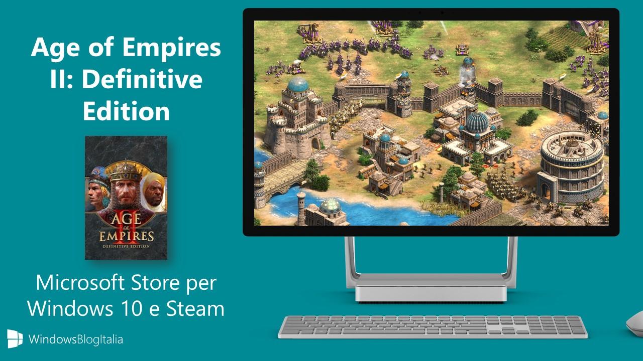 Age of Empires II Definitive Edition Windows e Steam