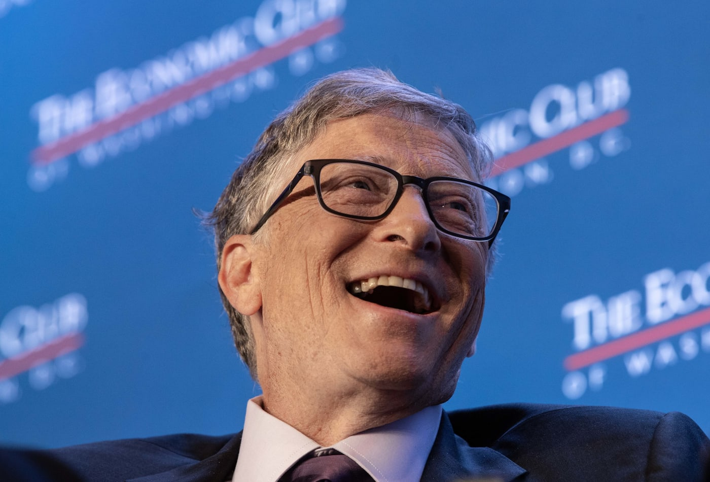 Bill Gates sorridente