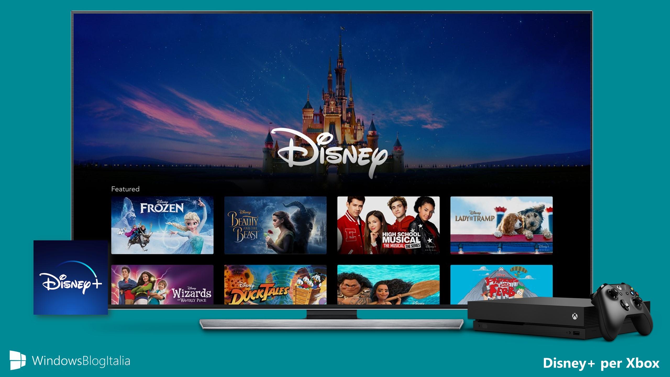 Disney+ per Xbox One