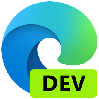 Microsoft Edge Dev nuova icona browser