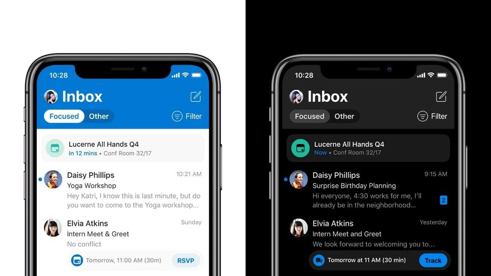Microsoft Outlook Mobile feature prossimo appuntamento