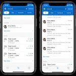 Microsoft Outlook Mobile ricerca migliorata a schede 2020
