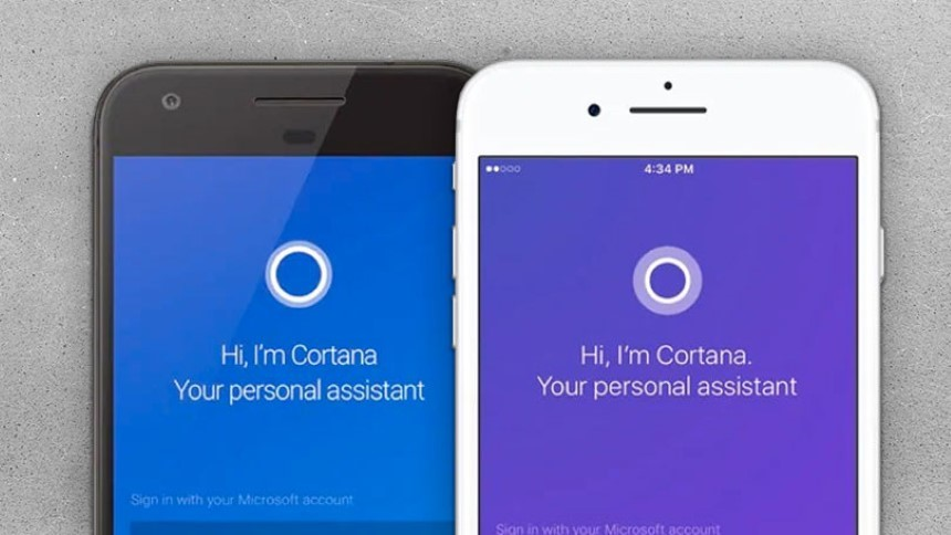 Microsoft addio Cortana per Android e iOS