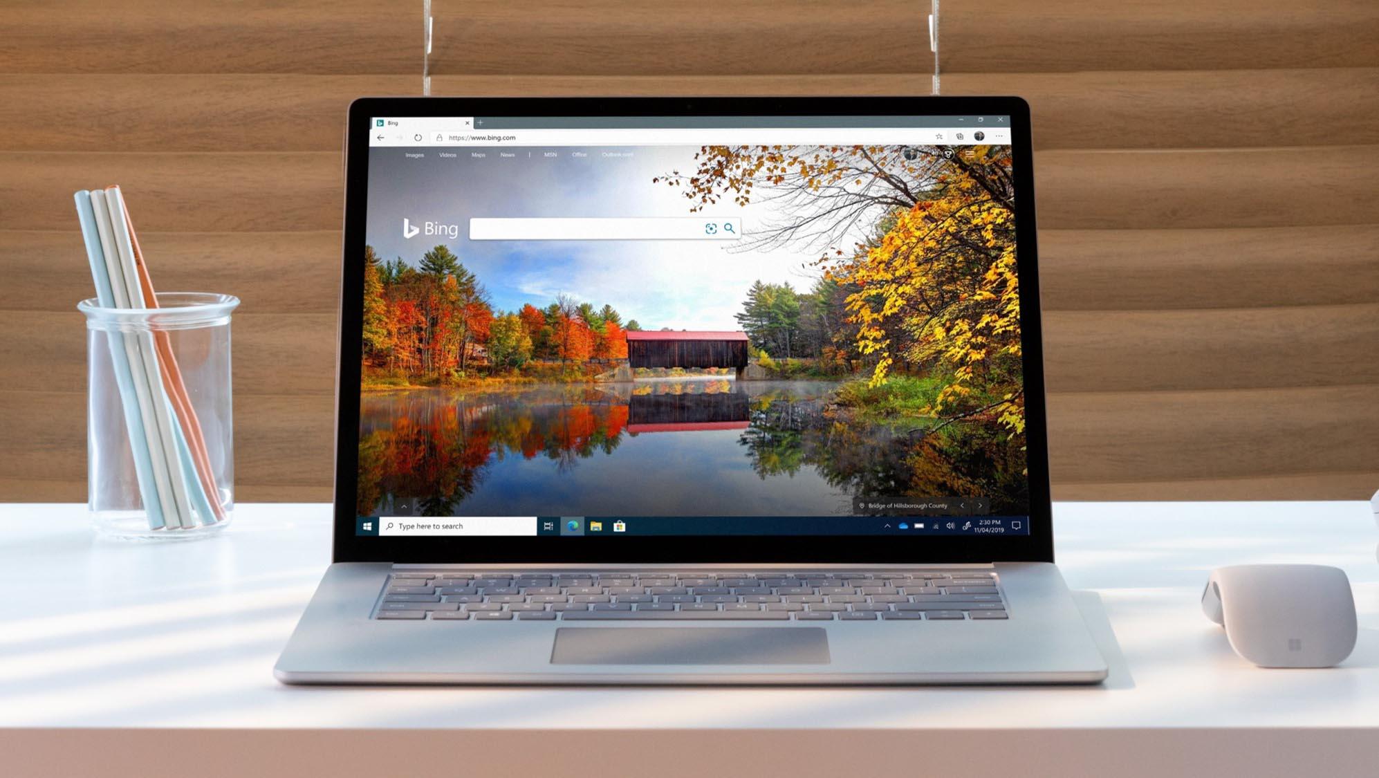 Nuovo Microsoft Edge e Bing ufficiale