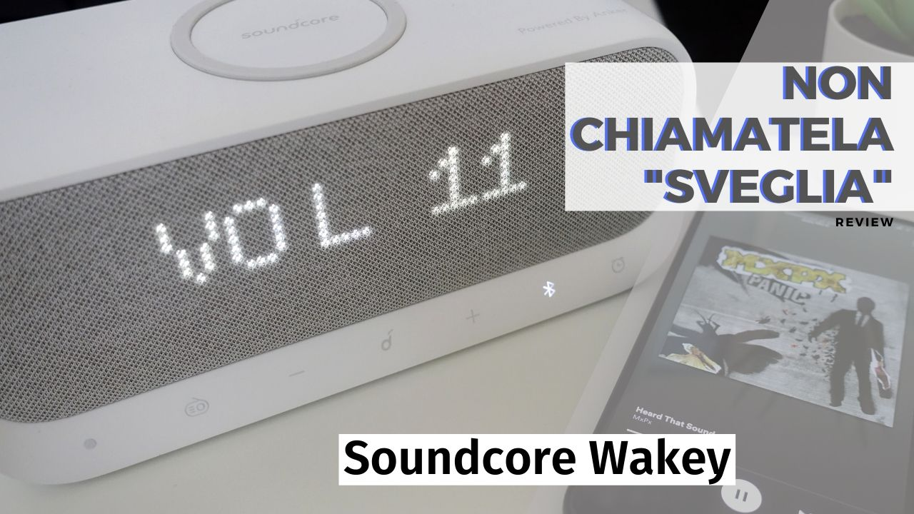Soundcore Wakey hero