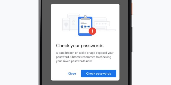 Better Password Protections Google Chrome 79