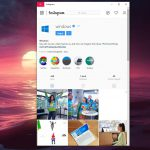 Instagram per Windows 10 nuova app ufficiale pagina profilo con link e storie in evidenza