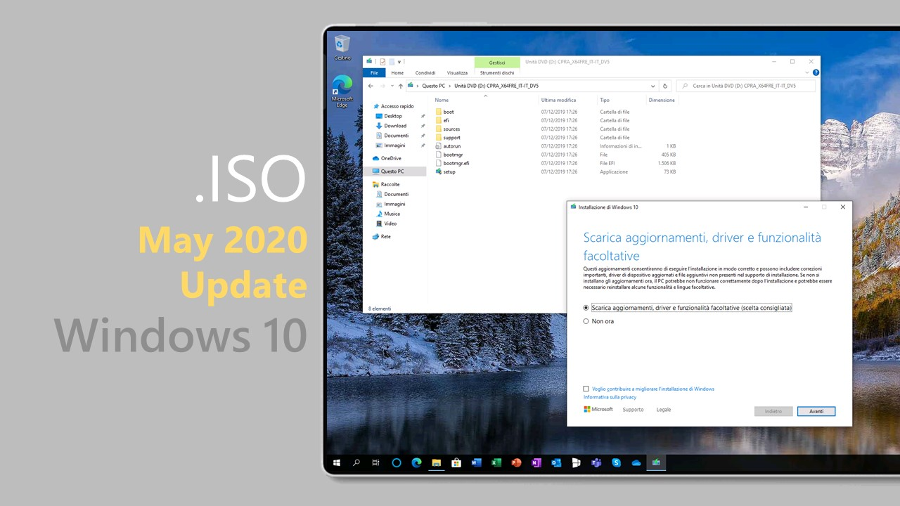 .ISO di Windows 10 May 2020