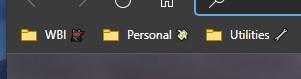 Microsoft Edge Dev nuovo colore cartelle di preferiti