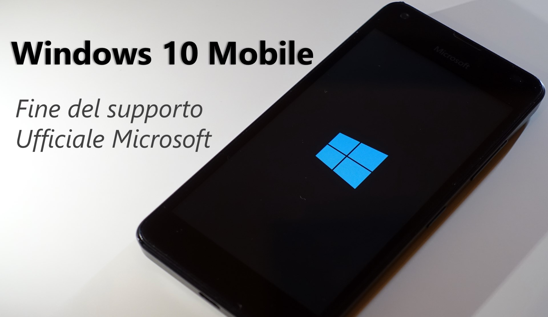 Windows 10 Mobile fine supporto ufficiale da parte di Microsoft