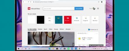 Microsoft News nuova scheda estensione per Google Chrome