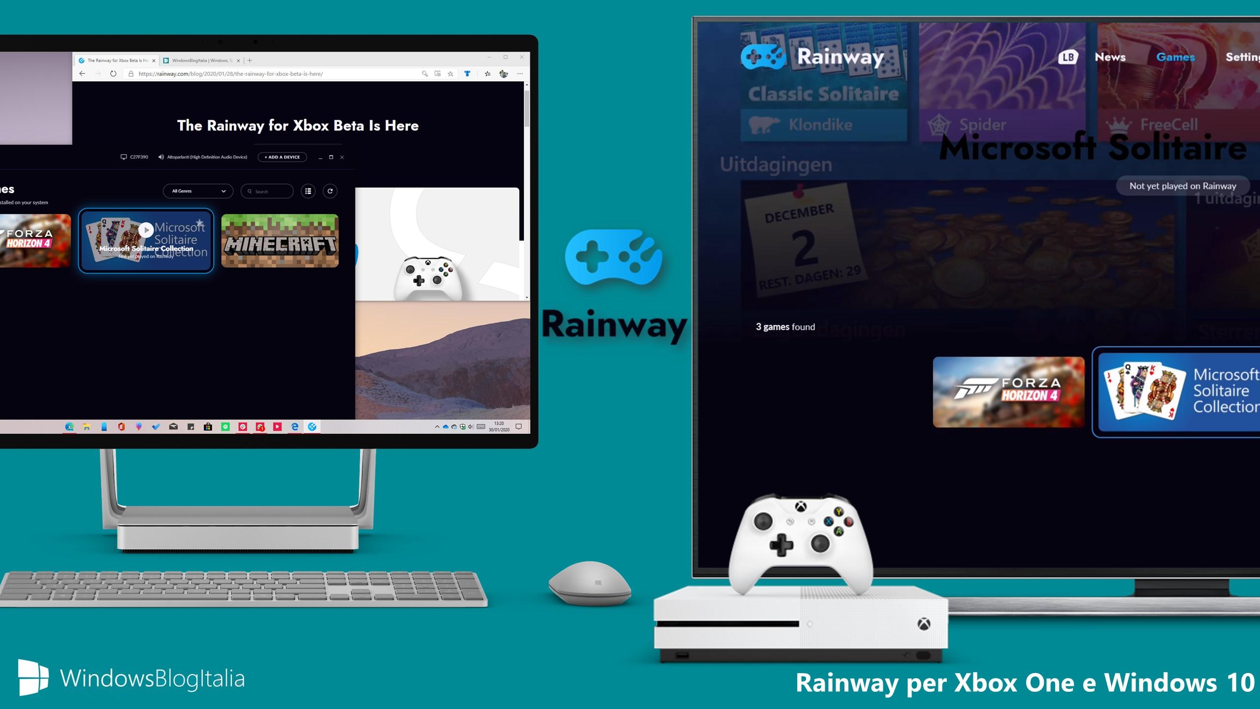 Rainway per Xbox One e Windows 10