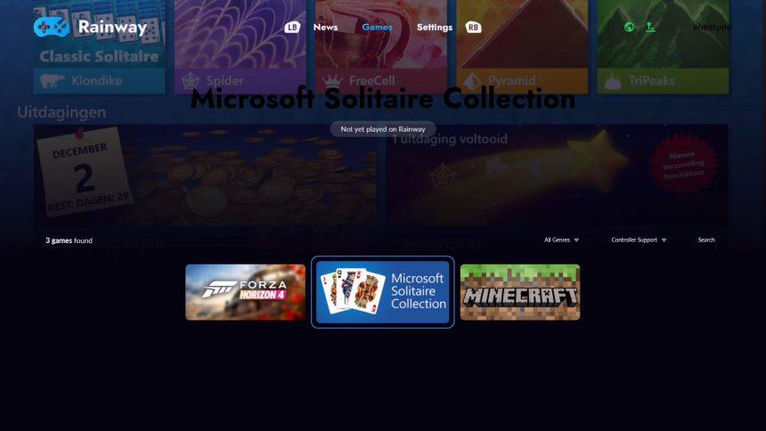 Rainway su Xbox One