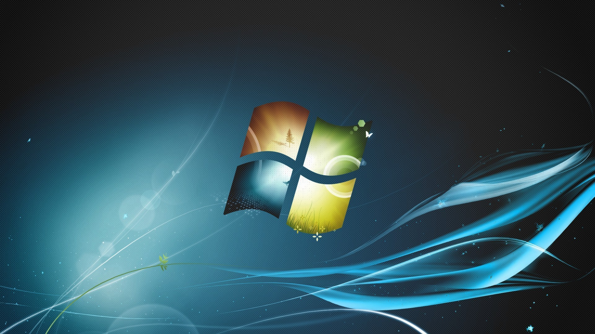Windows 7 wallpaper morto
