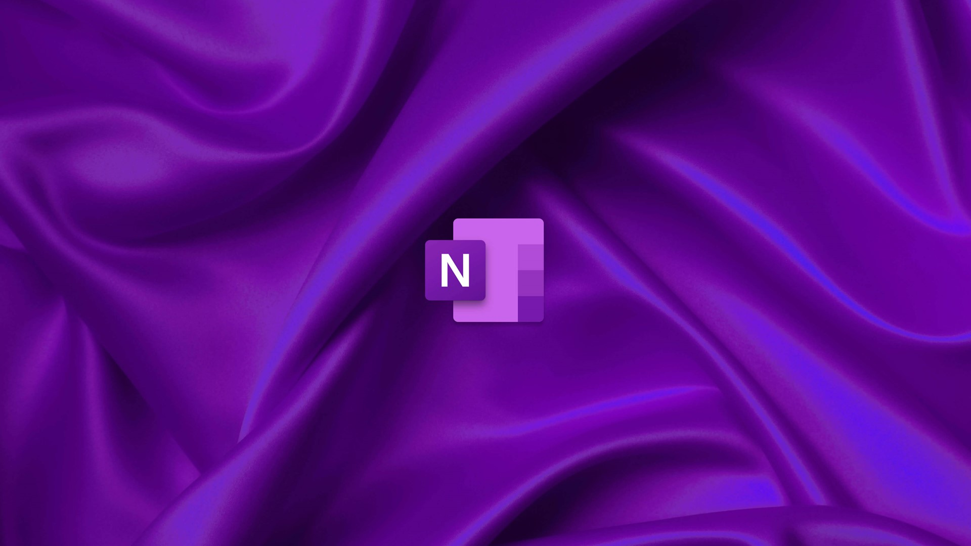 OneNote wallpaper